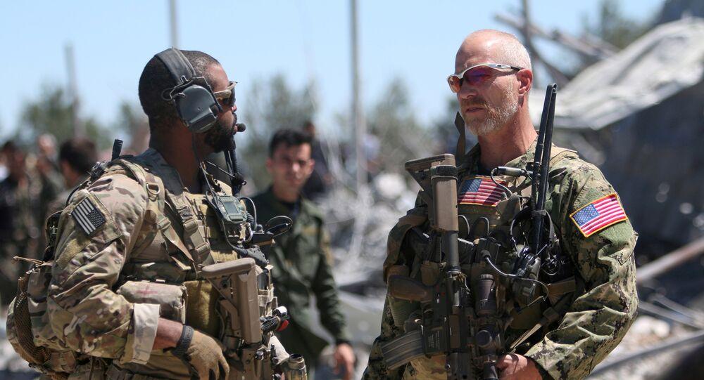 Militaires US en Syrie, image d'illustration