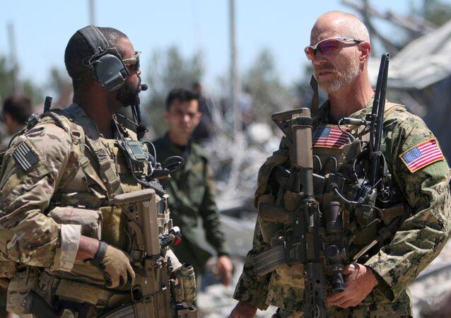 Des militaires US en Syrie