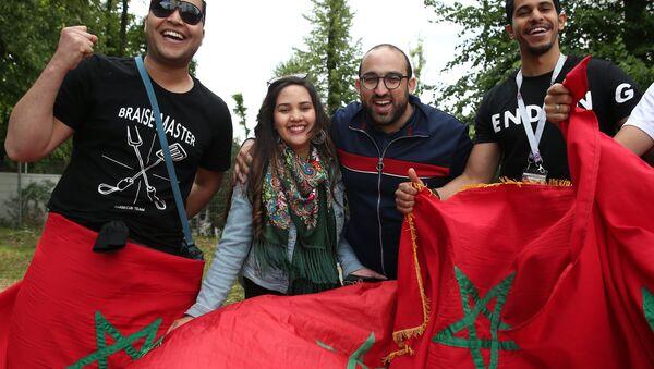 Des supporters marocains  - Sputnik France