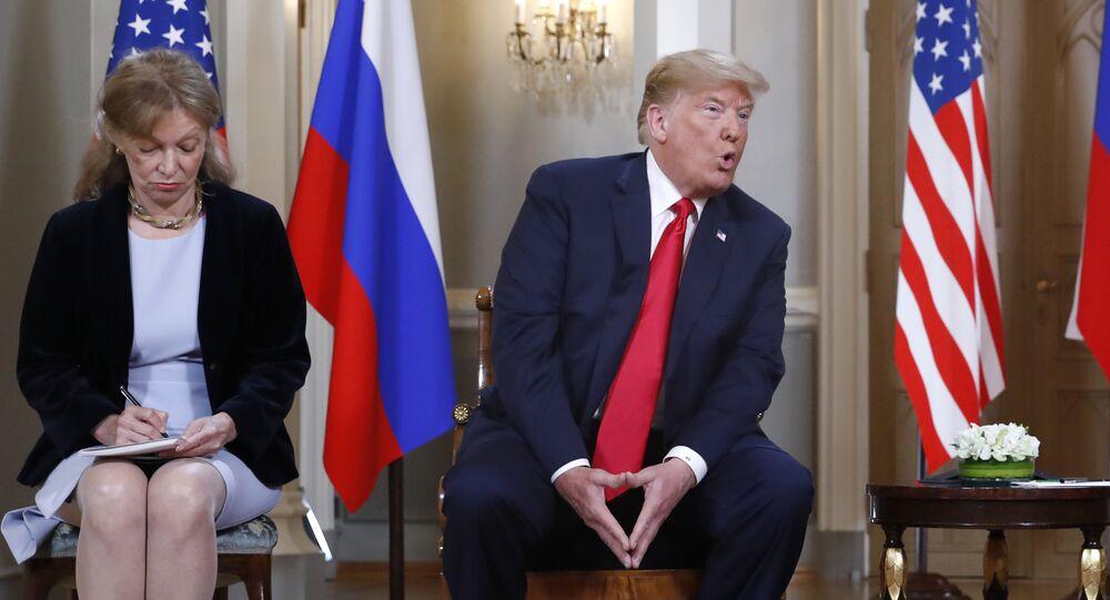 Donald Trump et Marina Gross