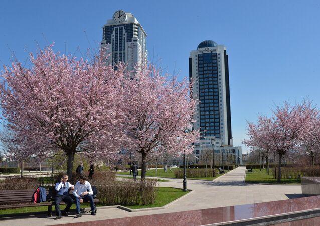 La ville de Grozny est devenu une ville moderne et spacieuse