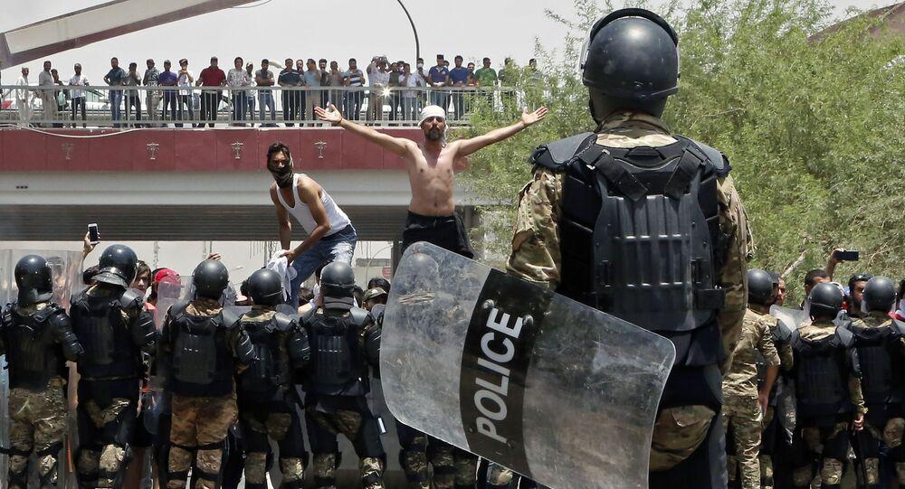 Manifestations dans le sud de l'Irak: «les terroristes en profitent à leurs fins»