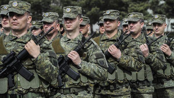 Membres de la Force de sécurité du Kosovo - Sputnik France