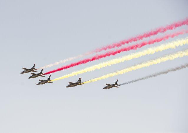 Le défilé aérien du 21 juillet en Belgique
