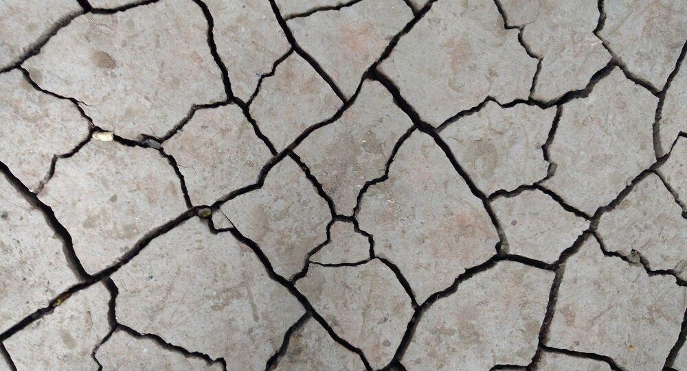 Fissures au sol