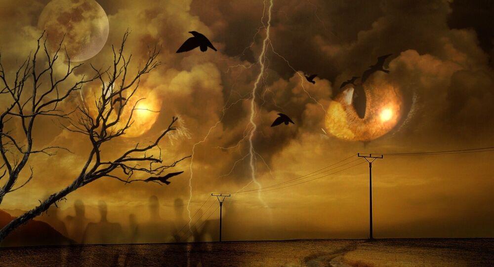 La fin des temps. Image d'illustration