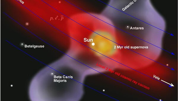 Explosion d'une supernova - Sputnik France