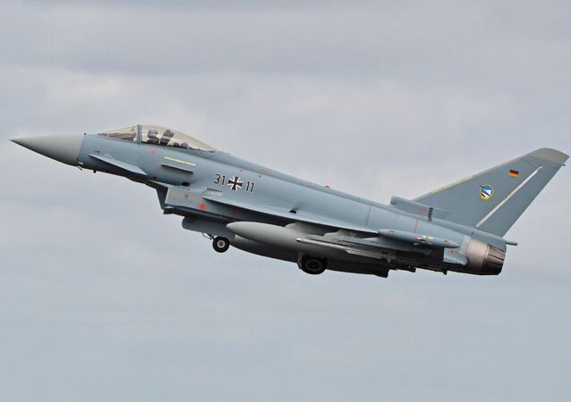 Un Eurofighter allemand