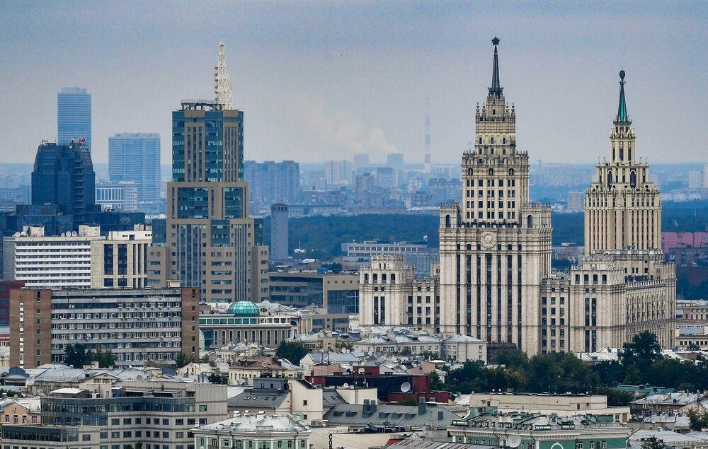 Moscou à vol d'oiseau