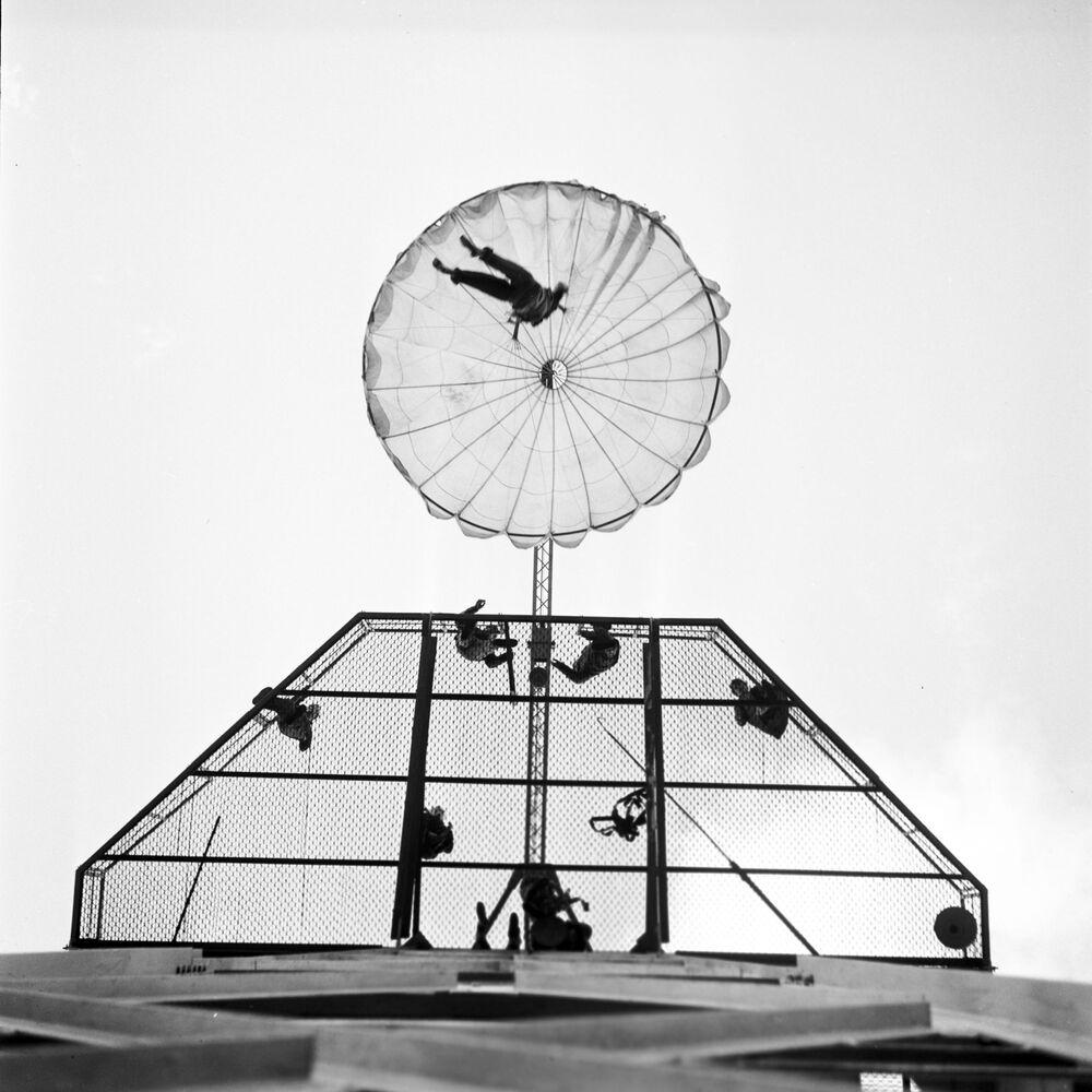 Le parachutisme en URSS
