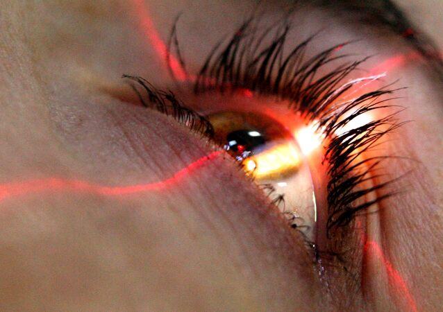 Une intervention sur l'oeil