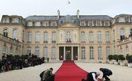 Le palais de l'Élysée, à Paris