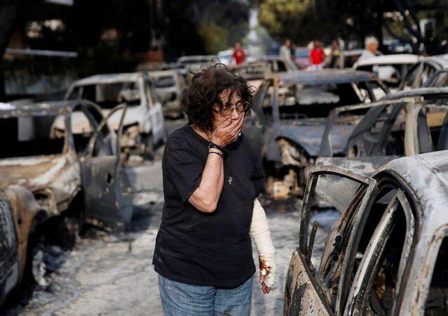 Une tragédie inimaginable: la Grèce après les feux de forêt