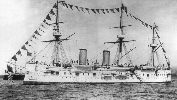Le croiseur Dmitri Donskoï de la marine impériale russe - Sputnik France