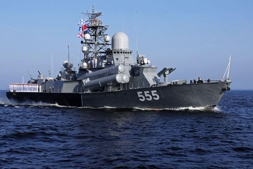 Les festivités consacrées à la Journée de la Marine russe
