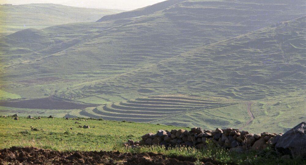 La Syrie. Photo d'archive