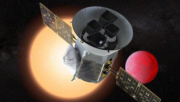 Le télescope spatial TESS (vue d'artiste) - Sputnik France