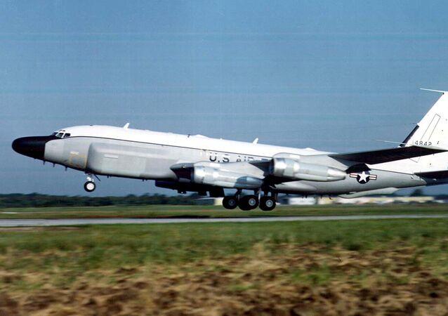 Un avion-espion RC-135 de l'US Air Force