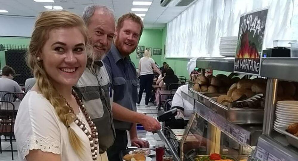 Une famille de fermiers blancs d'Afrique du Sud à Stavropol