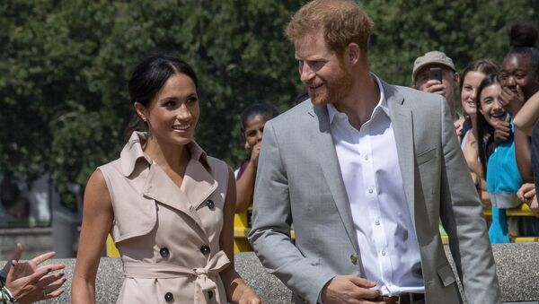 Britain's Prince Harry, Duke of Sussex and Meghan, Duchess of Sussex - Sputnik France