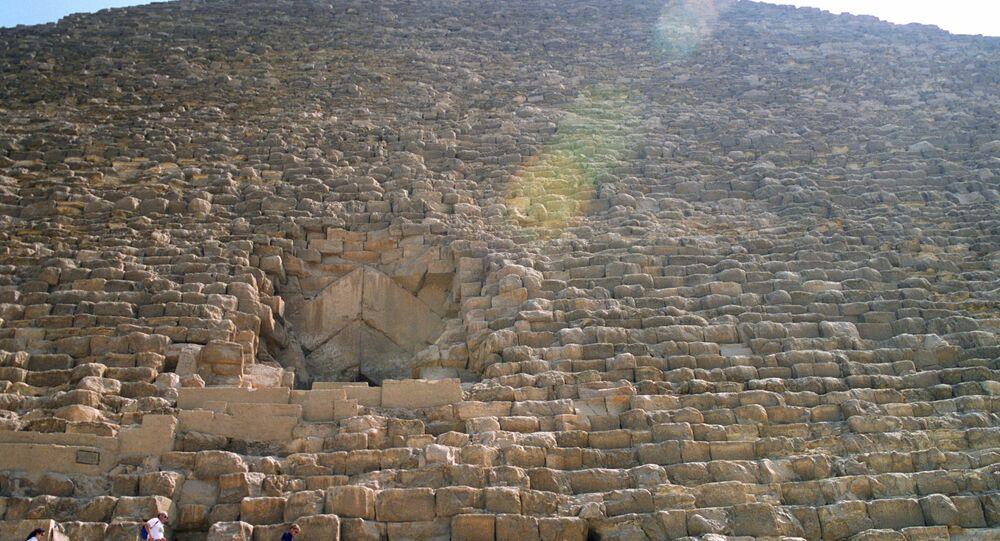 Pyramide de Khéops. Image d'illustration