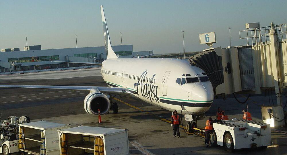 Un Boeing 737-900 d'Alaska Airlines