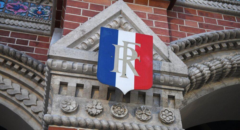 L'ambassade de France en Russie