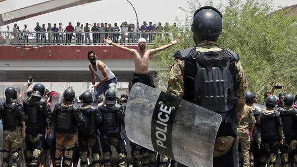 Manifestations dans le sud de l'Irak - Sputnik France