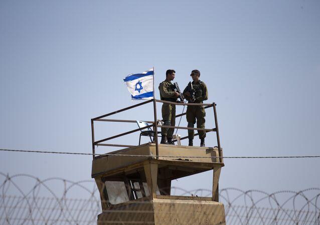 Frontière de Gaza