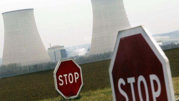 à la centrale nucléaire de Nogent-sur-Seine dans l'Aube - Sputnik France
