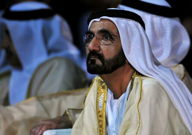 Mohammed ben Rashid al-Maktoum, vice-Président et Premier ministre émirati
