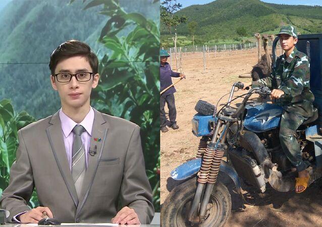 Au Vietnam, un célèbre animateur de télé troque le micro contre des autruches