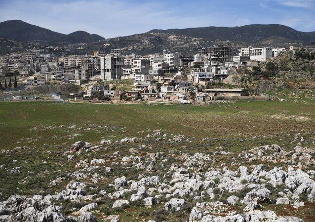 La ville de Masyaf dans le gouvernorat syrien de Hama