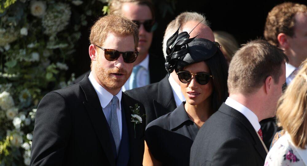 Le prince Harry et son épouse