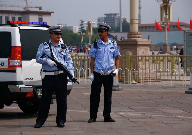 Police chinoise (archive photo)