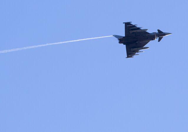Un Eurofighter Typhoon