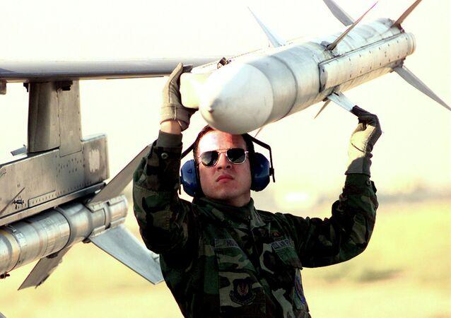 Missile AIM-120 AMRAAM (image d'illustration)