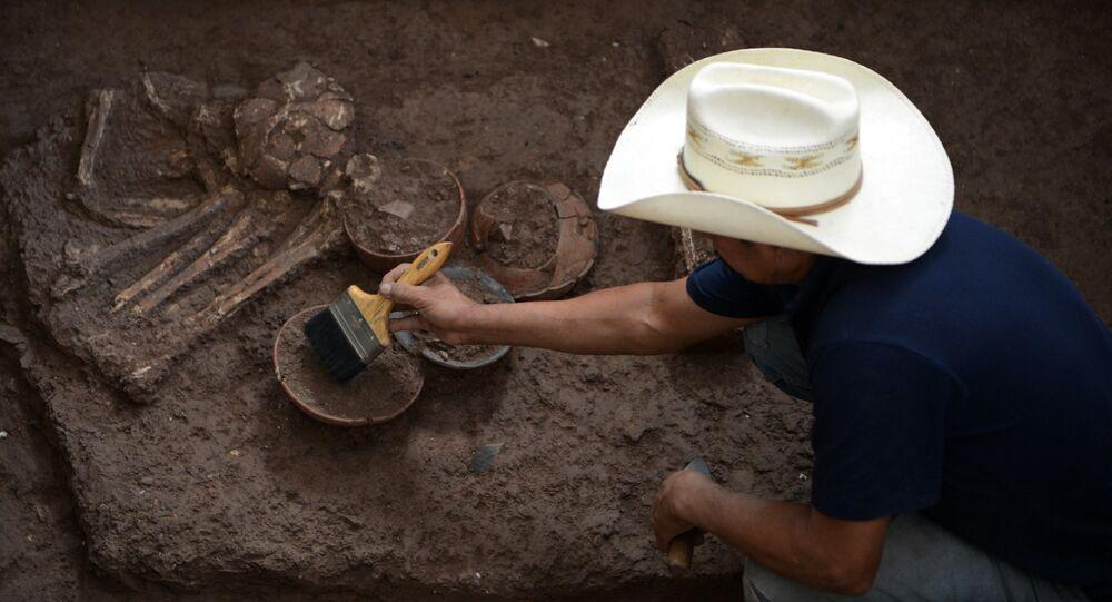 archéologue, image d`illustration