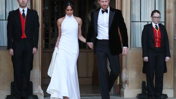 Le prince Harry et Meghan Markle - Sputnik France