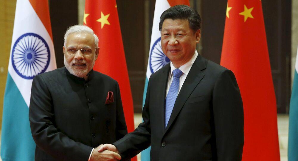 Narendra Modi et Xi Jinping