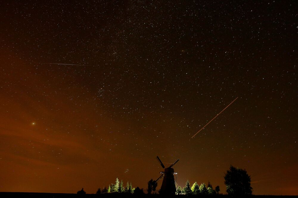 Meteor Activity 2020 April to 2021 March