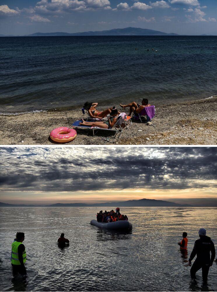 L'île grecque de Lesbos trois ans après le début de la crise migratoire