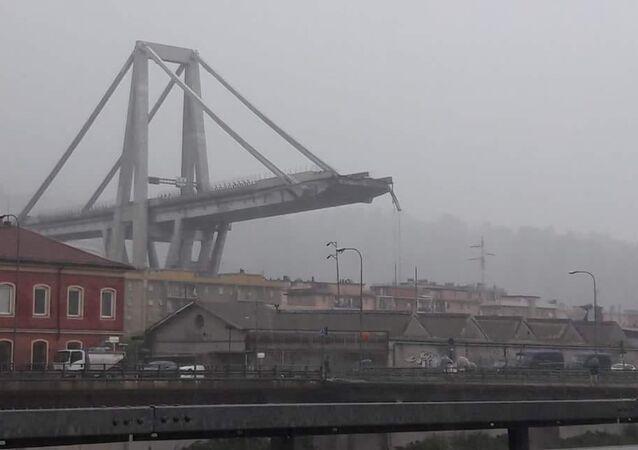 Le viaduc Morandi de Gênes