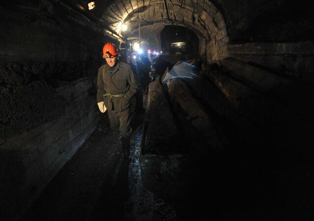 Des mineurs russes (image d'illustration)