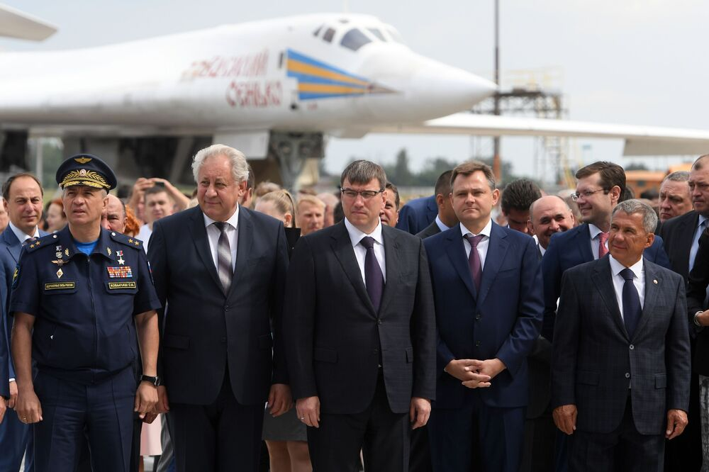 Le bombardier russe Tu-22M3M dévoilé au public
