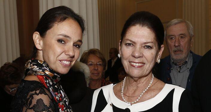 Natalia avec sa mère Irina Strozzi