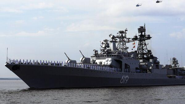 Le destroyer Severomorsk à Kronstadt - Sputnik France