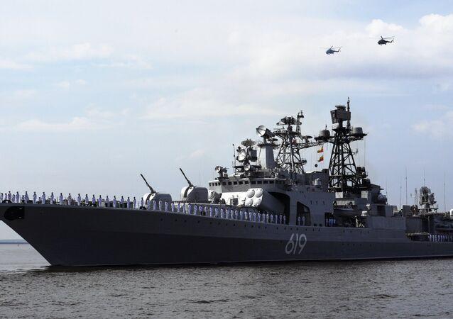 Le destroyer Severomorsk à Kronstadt