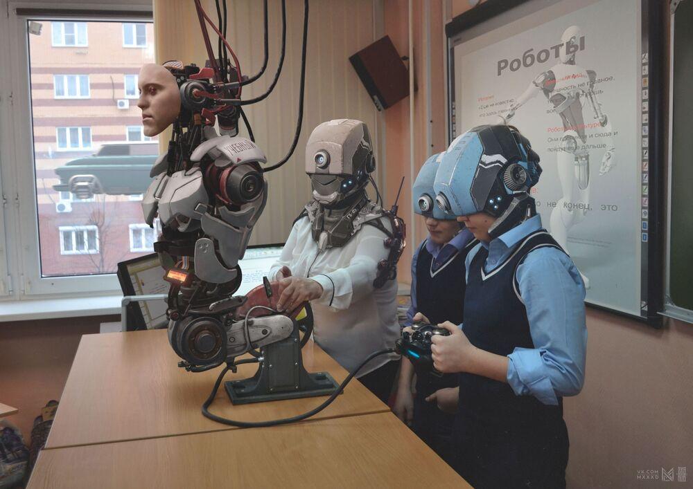 Russia 2077: la Russie de demain dans le style cyberpunk