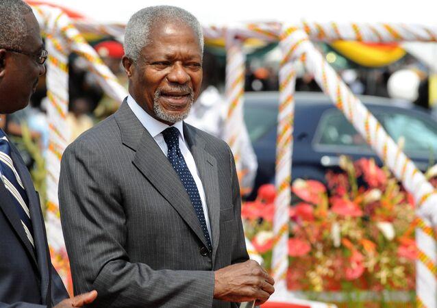 Ex-secrétaire général de l'Onu Kofi Annan
